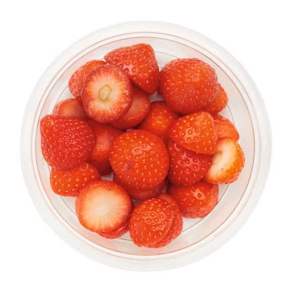 Aardbeien ontkroond product photo
