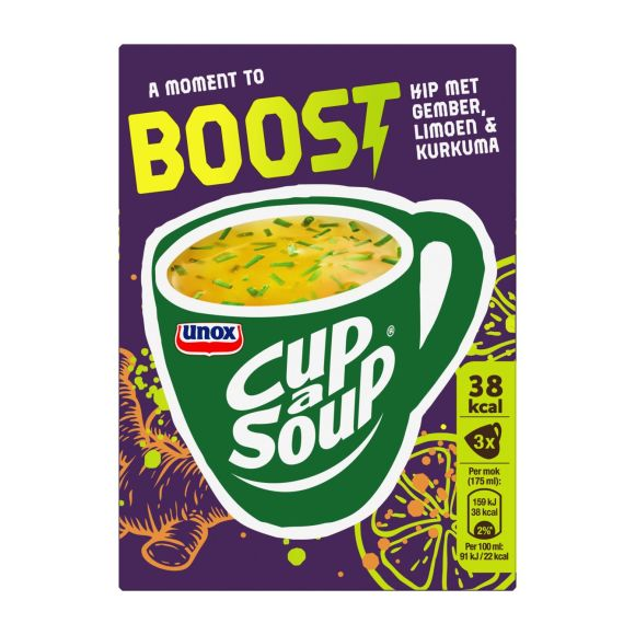 Unox Cup a soup boost kip product photo