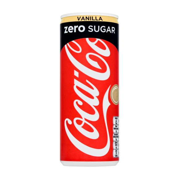 Coca-Cola Zero vanilla product photo