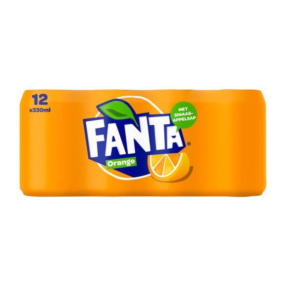 Fanta Orange  blikjes 12 x 330 ml product photo