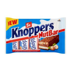 Knoppers Nutbar 5-pack product photo