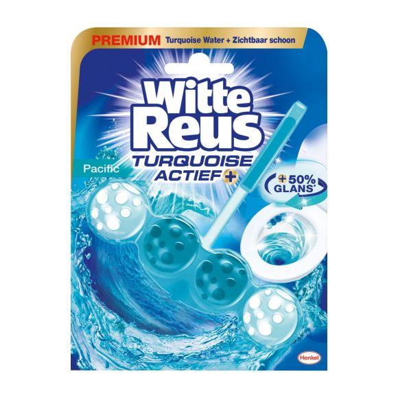 Witte Reus Toiletblok actief turquoise product photo