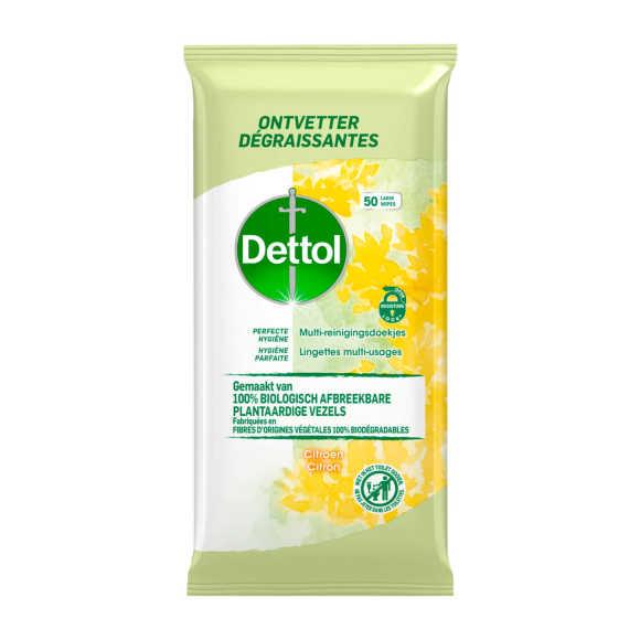 Dettol Doekjes bio citrus product photo