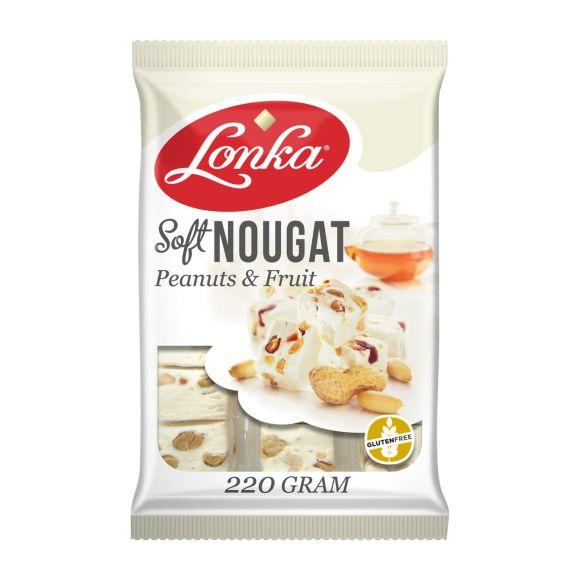 Lonka Soft nougat pinda vruchten product photo