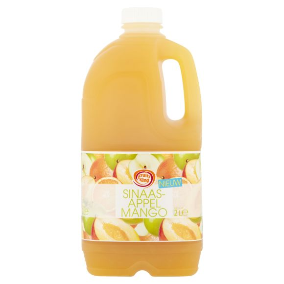Fruity KingSinaasappel mango sap product photo