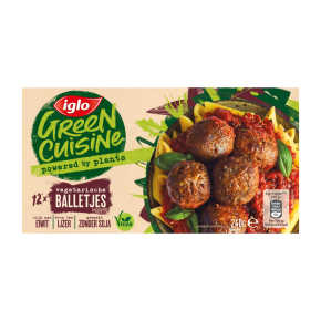 Iglo Vegetarische balletjes product photo