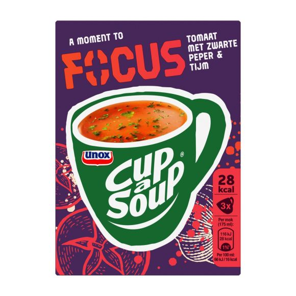Unox Cup a soup focus tomaat product photo