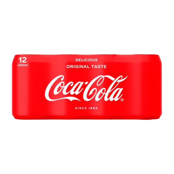 Coca-Cola Cola blikjes 12 x 330 ml product photo
