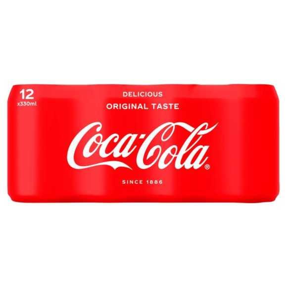 Coca-Cola Original taste 12 x 330 ml product photo