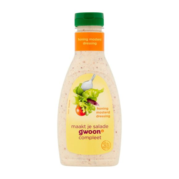 g'woon Honing mosterd dressing product photo