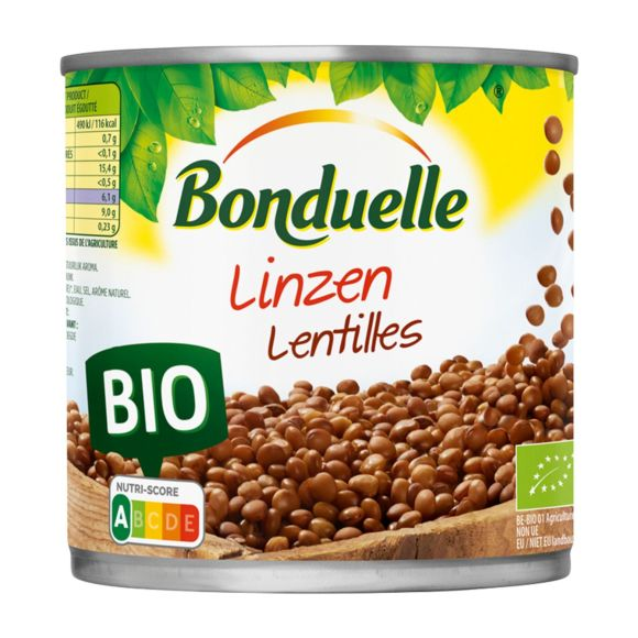Bonduelle Linzen biologisch product photo