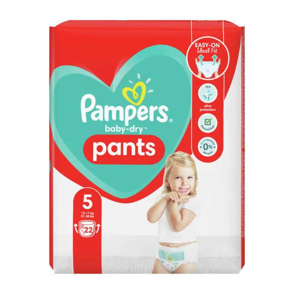 Pampers Baby-Dry Pants luierbroekjes maat 5, 12kg-17kg product photo