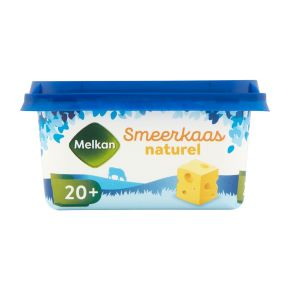 Melkan Smeerkaas 20+ naturel product photo