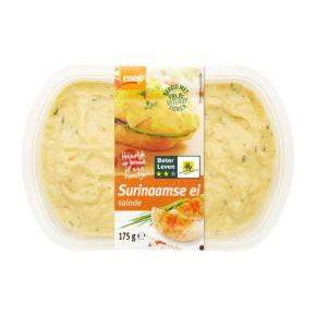 Coop Surinaamse scharrel ei salade 2 sterren product photo