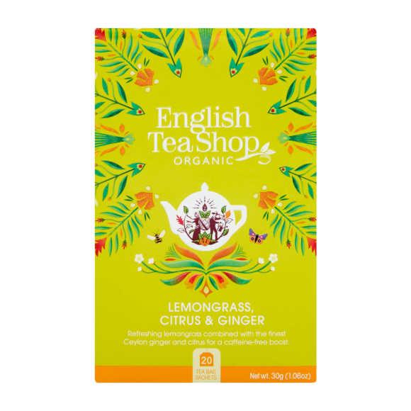 English Tea Shop Lemongrass ginger cintrer thee biologisch product photo