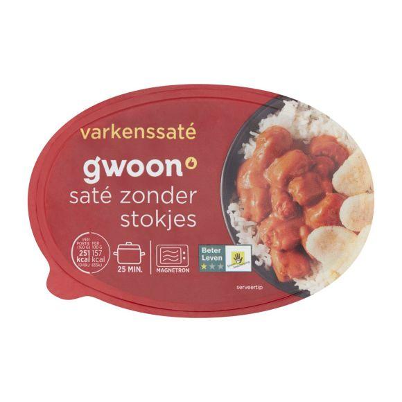 g'woon Varkenssaté bakje product photo