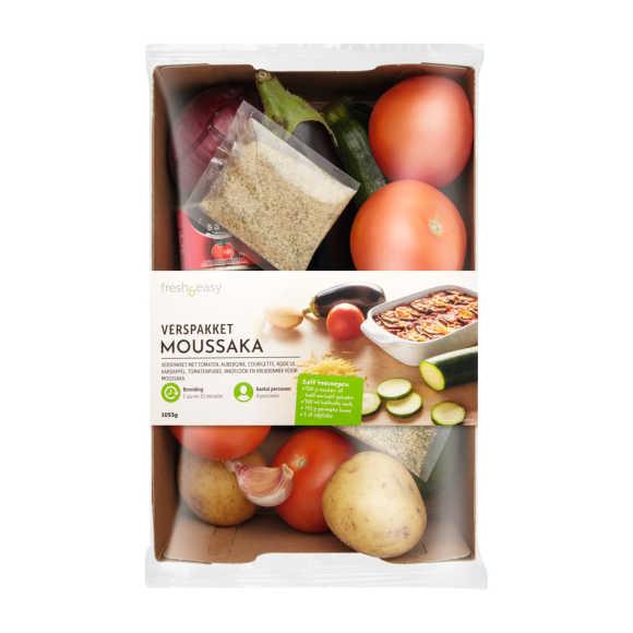 Verspakket moussaka product photo