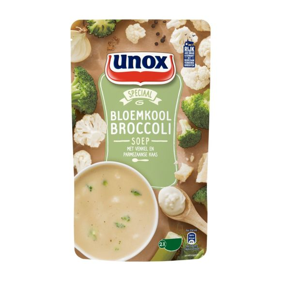 Unox Bloemkool broccoli soep product photo