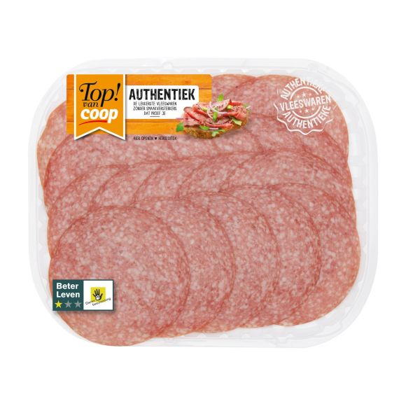 Top! van Coop Authentiek salami product photo