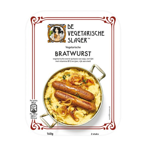 Vegetarische Slager Bratwurst product photo