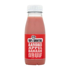 Fruity King Smoothie aardbei product photo