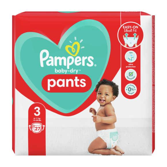 Pampers Baby-Dry Pants luierbroekjes maat 3, 6kg-11kg product photo