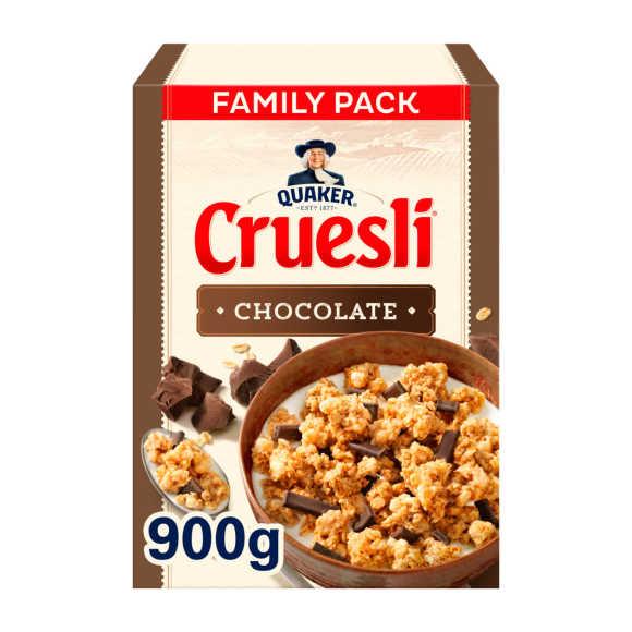 Quaker Cruesli chocolade product photo