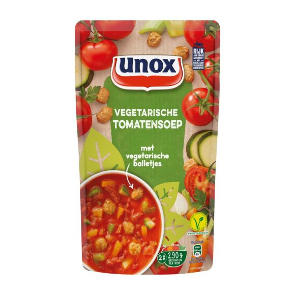 Unox Tomatensoep vegetarisch product photo