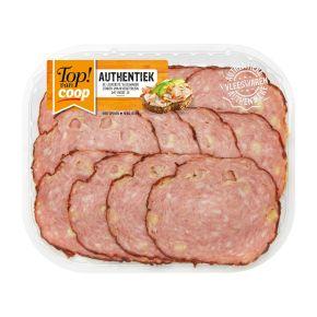 Top! van CoopAuthentieke grillworst met kaas product photo