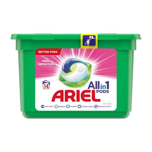 Ariel Allin1 Pods Fris roze wasmiddelcapsules product photo