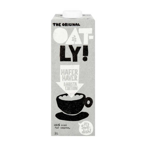 Oatly Haver barista edition product photo