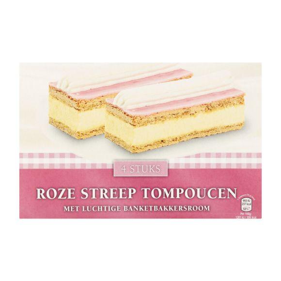 Quality Roze streep tompoucen product photo