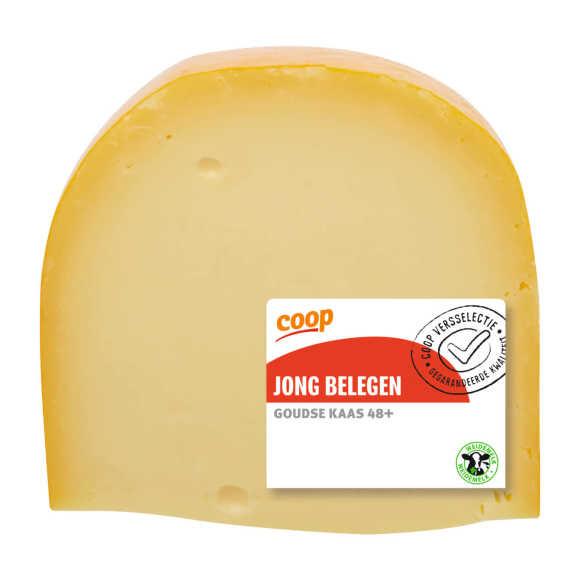 Coop Jong belegen kaas stuk voordeelverpakking product photo