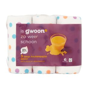 g'woon Keukenpapier 3-laags decor product photo