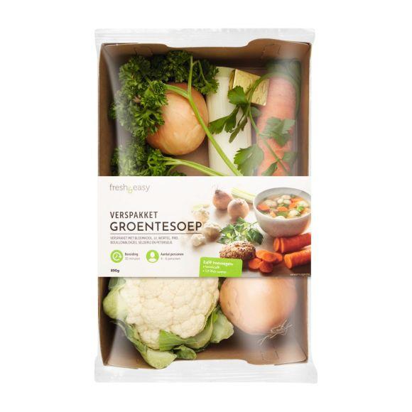 Verspakket groentesoep product photo