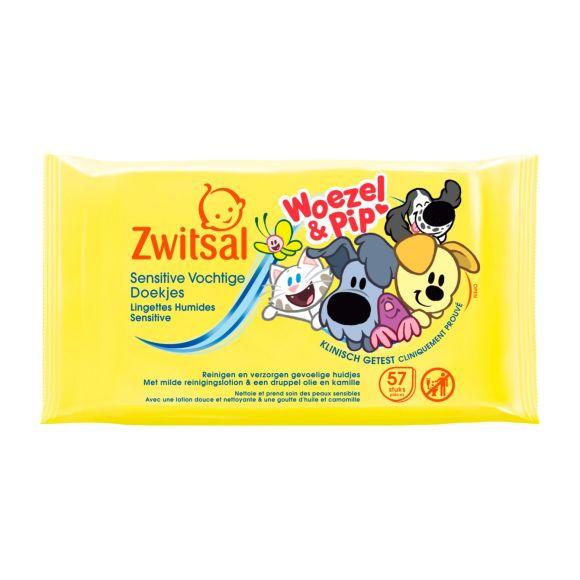 Zwitsal Babydoekjes woezel & pip product photo