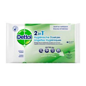 Dettol Hygienische doekjes 2 in 1 product photo