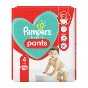 Pampers Baby-Dry Pants luierbroekjes maat 4, 9kg-15kg product photo