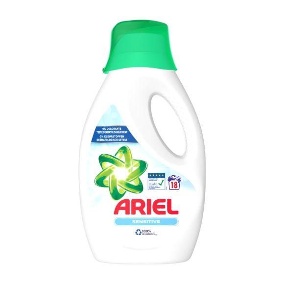 Ariel Sensitive vloeibaar wasmiddel 18 wasbeurten product photo