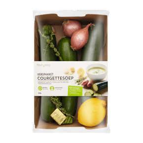 Verspakket courgettesoep product photo