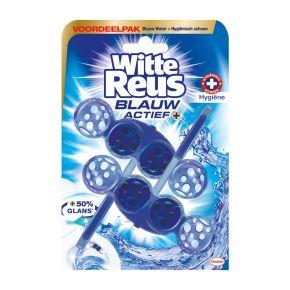 Witte Reus Toiletblok duo blauw actief hygiene product photo