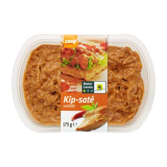 Coop Kip-saté salade 1 ster product photo