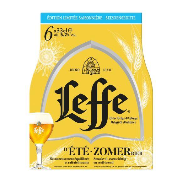 Leffe d'Été Zomerbier fles 6 x 30 cl product photo