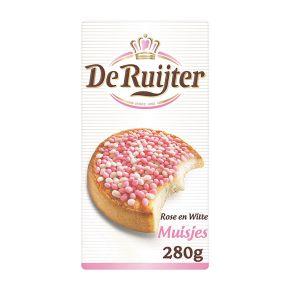 De Ruijter Muisjes roze & wit product photo