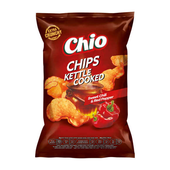 Chio Chips Kettle Cooked Sweet Chili & Red Pepper 150 g product photo