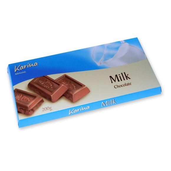 Karine chocoladereep melk product photo