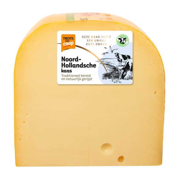 Trots van Coop Noord-Hollandsche romig jonge 48+ kaas stuk product photo