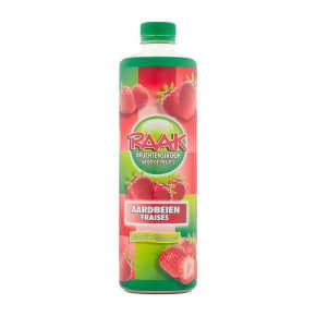 Raak Vruchtensiroop aardbei product photo
