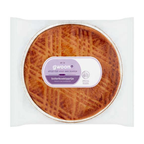g'woon Roomboter boterkoek taartje product photo