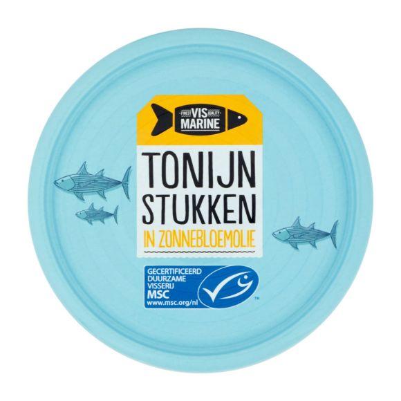 Vismarine Tonijnstuk in zonnebloemolie product photo